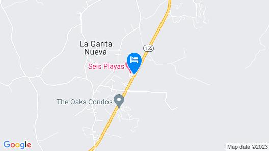Seis Playas Hotel Map
