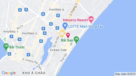 Malibu Hotel Map