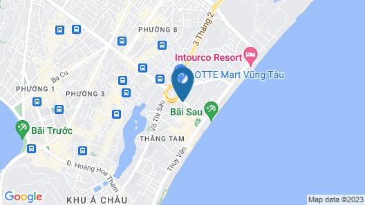 Premium Beach Hotels & Apartments Map