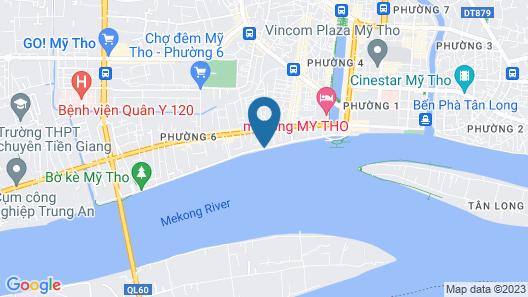 Rang Dong Hotel Map