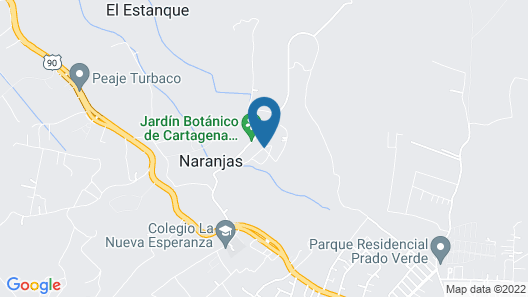 Casa Mia - Villa Camino Alto Map