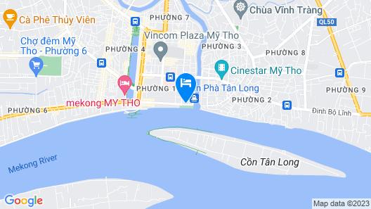CUU Long Hotel MY THO Map