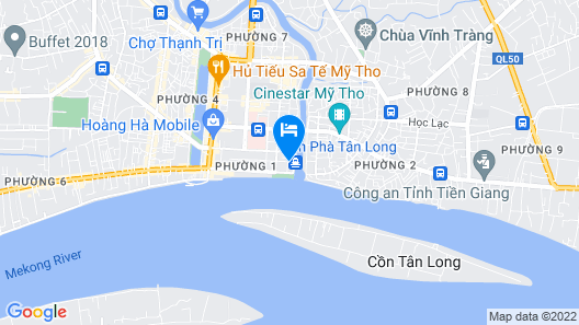 Song Tien Annex Hotel Map