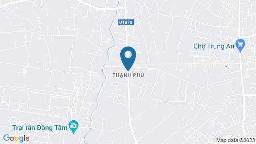 Bau Bi Mini Farmstay Mekong - Tien Giang Map