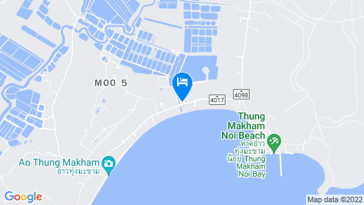 Moonshine Resort Chumphon Map