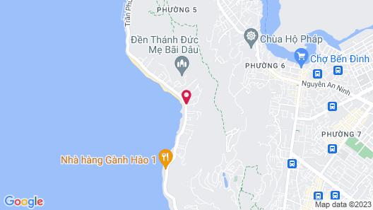 Marina Bay Vung Tau Resort & Spa Map