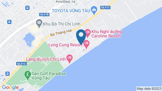 Ocean Pearl Villa Map