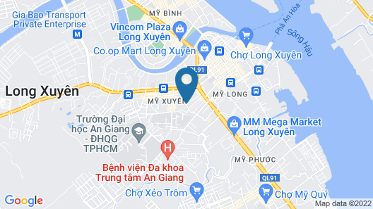 Nha Tro Kim Anh Map