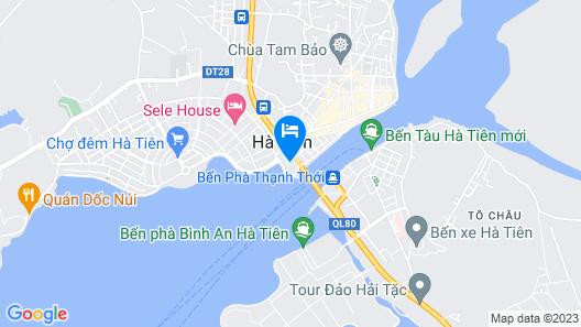 Phao Dai Hotel Map