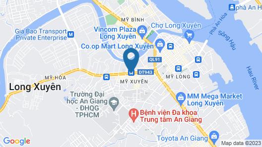 Chau Khuong Hotel Map