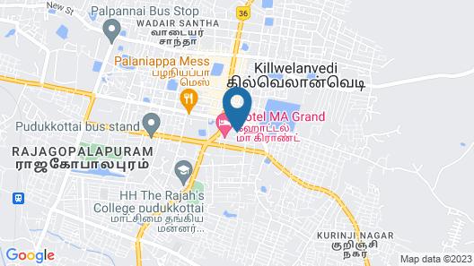 Hotel Ma Grand Map