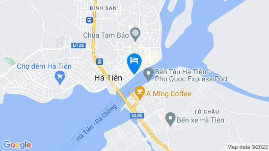 River Hotel Map