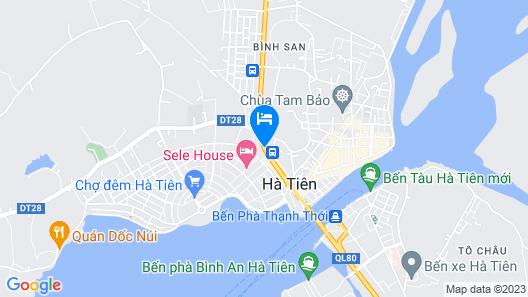 Aquaki Resort & Spa Map