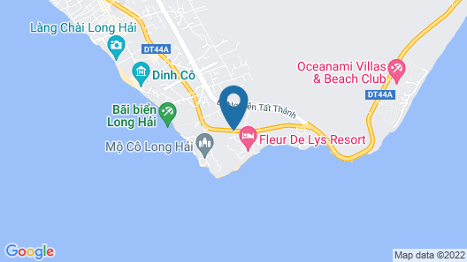 Anoasis Resort Long Hai Map
