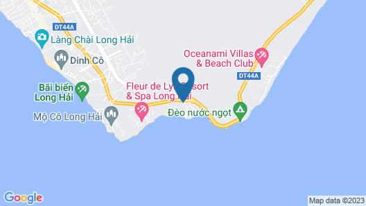 Long Hai Beach Resort Map