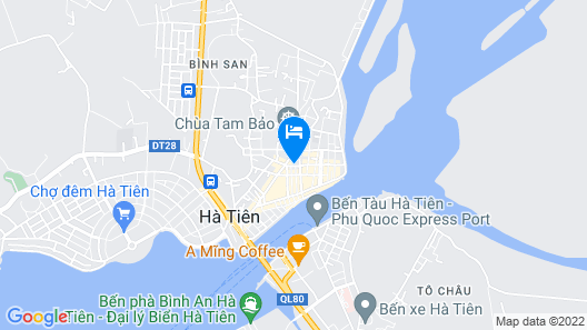 Huynh Huong Guesthouse Map