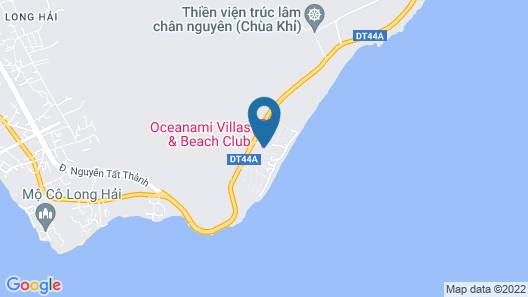 7S Hotel Ocean Nami Vung Tau Map