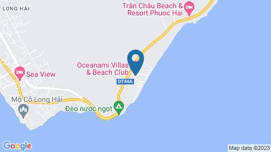 An Nhien Hotel Apartment - Oceanami Map