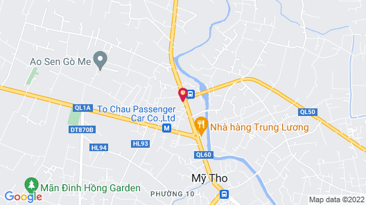 Trung Luong Hotel 1 Map