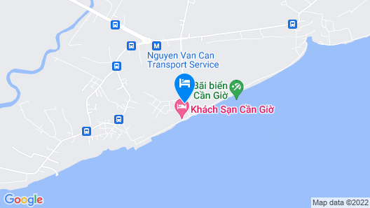 Mangrove Hotel Can Gio Map