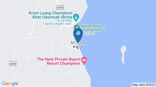 De Sea Almond Hotel Chumphon Map