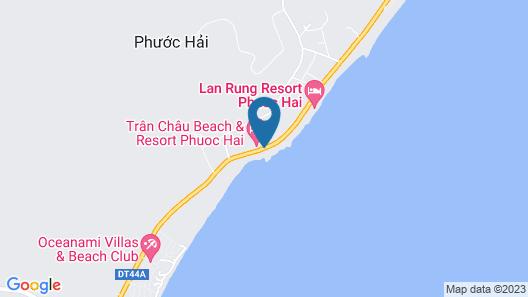 Thuy Duong Resort Map