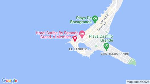 Hotel Dann Cartagena Map