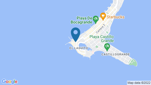Hotel Dann Cartagena Map