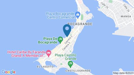 Adlas Condo by the Beach Map