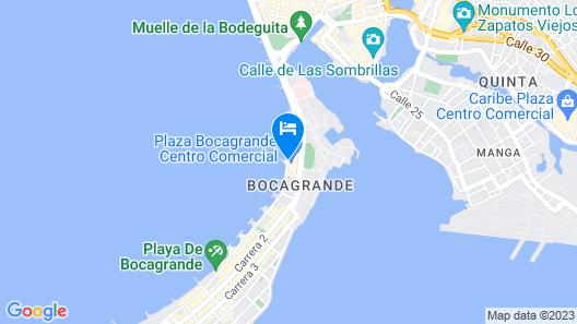 Hyatt Regency Cartagena Map