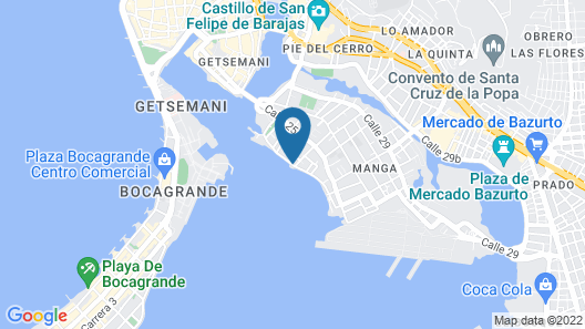 45 Sailboat Veleros Colombia Map