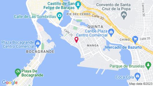 Puerto De Manga Map