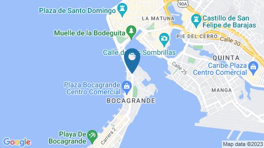 Bocagrande Hotel by GH Suites Map