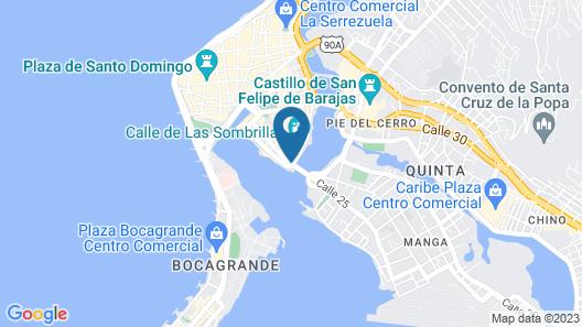 GHL Hotel Armería Real Map
