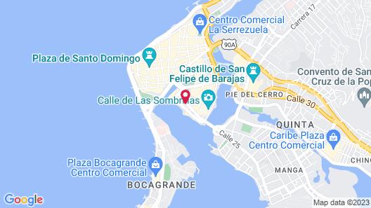 Selina Cartagena Map
