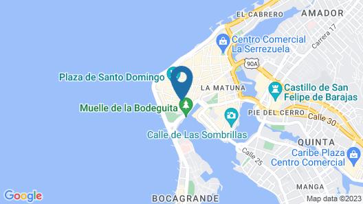 Casa Claver Loft Boutique Hotel Map