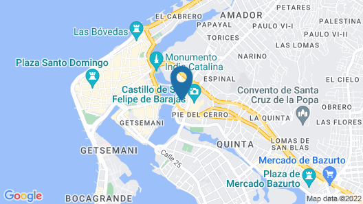 Hotel Casa Salomé Map