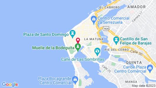 Movich Hotel Cartagena de Indias Map