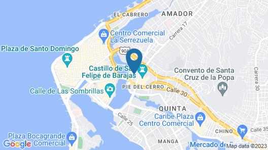 Hostel Mirador del Castillo Map