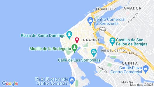 Santa Catalina Hotel Map