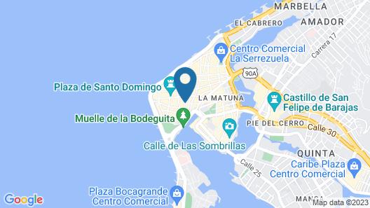Casa Pombo Map