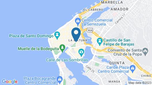 Hotel Dorado Plaza Centro Histórico Map