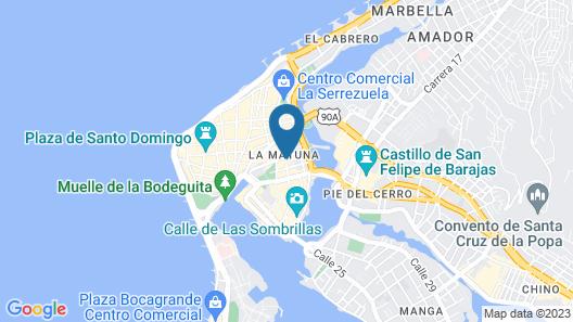 Hostal Casa Venecia Map