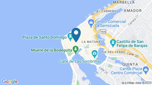 Casa del Arzobispado Hotel Map