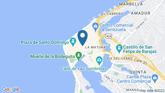 Balcones de Alhelí Hotel Map