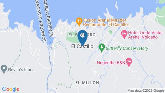 Birdsong Villa Map