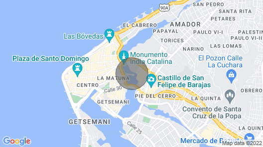 Casa Magdalena Boutique/pool by Nomad Guru Map