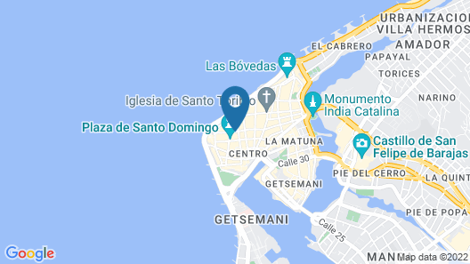 Hotel Boutique LM Map