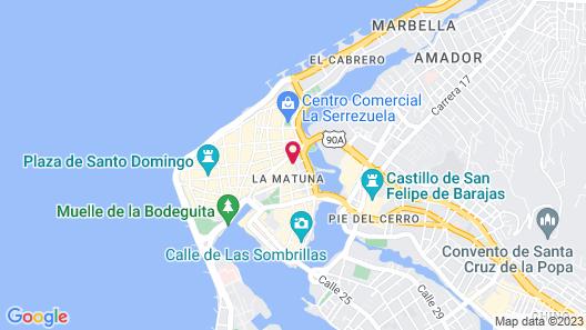 Hotel Stil Cartagena Map
