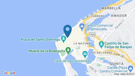 Hotel Quadrifolio Map